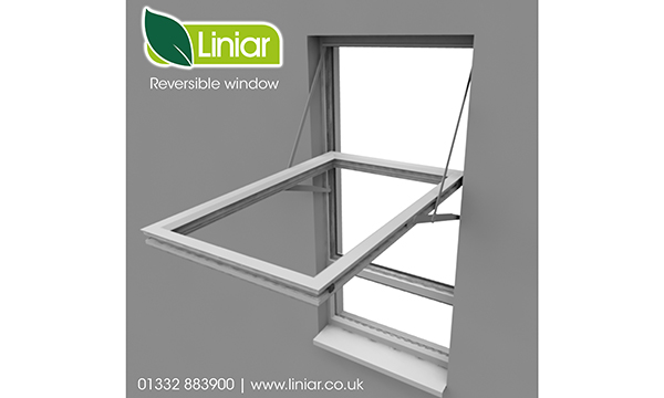REVERSIBLE WINDOW COMING SOON FROM LINIAR