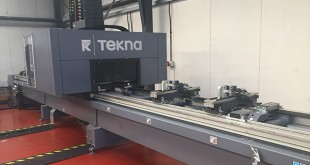 PR184 Tekna 944 machining centre installed by Emmegi (UK) at CSI Aluminium 1