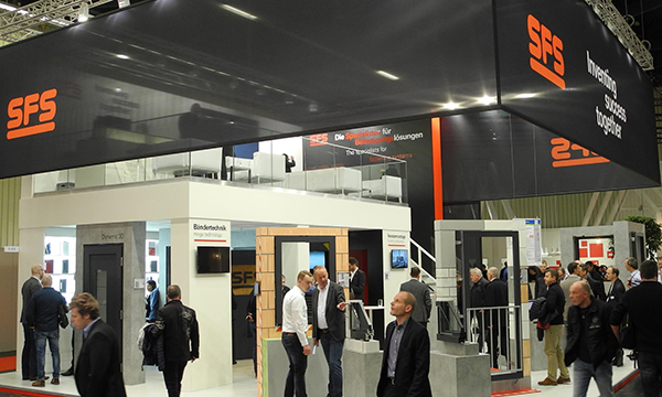 SFS HINGE TECHNOLOGY RAISES THE BAR AT 2018 FENSTERBAU FRONTALE