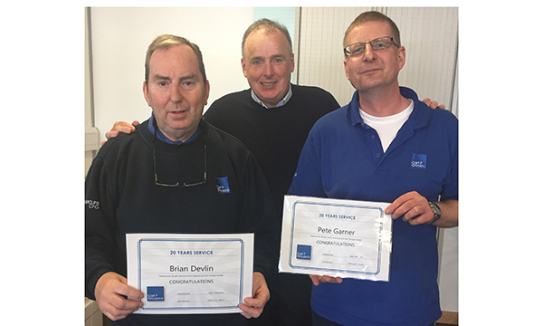 20 YEAR CELEBRATIONS FOR CARL F GROUPCO  WAREHOUSE STAFF