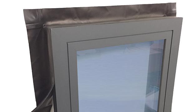 ISO CHEMIE'S HAS WINDOW AND DOOR SEALING COLLARED