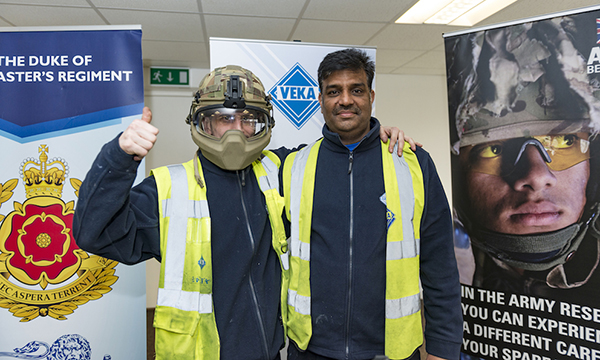 VEKA GROUP HAS NO RESERVATIONS IN WELCOMING RESERVISTS