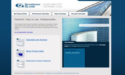 GUARDIAN GLASS IN EUROPE LAUNCHES NEW GLASS ANALYTICS TOOL TO REPLACE THE GUARDIAN CONFIGURATOR FOR IMPROVED GLASS PERFORMANCE ANALYSIS