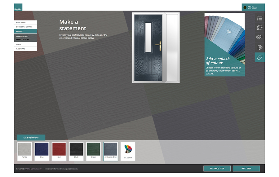 RESIDOR GETS A POWERFUL DOOR DESIGNER