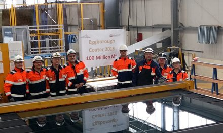 SAINT-GOBAIN GLASS REACHES 100 MILLION LANDMARK