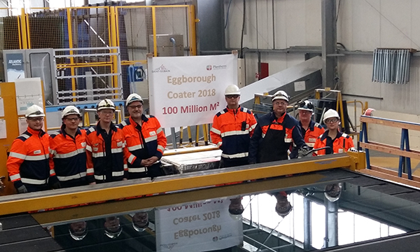 SAINT-GOBAIN GLASS REACHES 100 MILLION LANDMARK