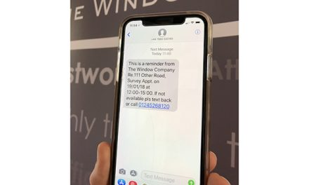 NEW TEXTING INITIATIVE FROM THE WINDOW COMPANY (CONTRACTS)