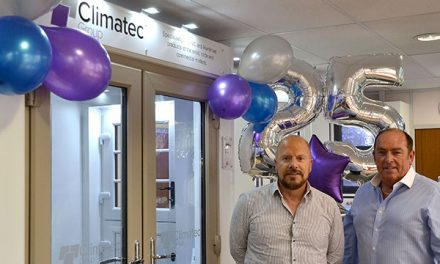 THE CLIMATEC GROUP ARE CELEBRATING THEIR 25TH BIRTHDAY, WITH A BRAND-NEW LOOK AND NEW WEBSITES TO SUIT!