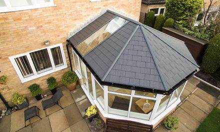 UNIVERSAL TRADE FRAMES OFFERS THE LIGHTEST TILED CONSERVATORY ROOF ON THE MARKET