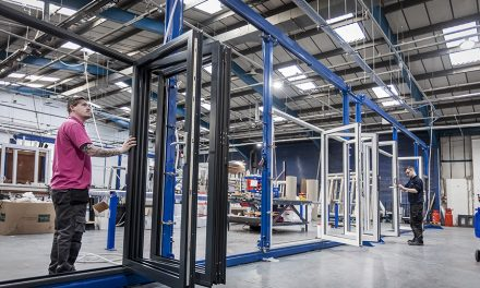 ALUMINIUM THE FOUNDATION OF SUSTAINED  GROWTH FOR DOOR SPECIALIST