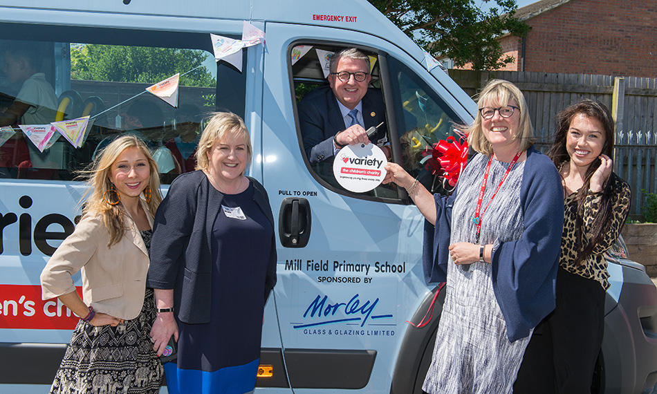 MORLEY GLASS HELPS GET SCHOOL ON THE ROAD