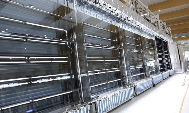 DISCOVER THE WORLD'S BIGGEST I.G. PRODUCTION LINE, MANUFACTURED BY BYSTRONIC GLASS