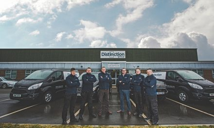 DISTINCTION DOORS' TECHNICAL SUPPORT IS KEY TO THE DISTINCTION DIFFERENCE