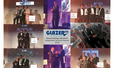 Glazerite Installers Take Five Of The Six Independent Network Awards