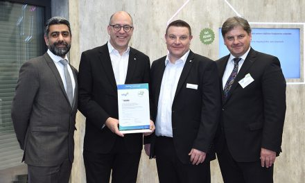 REHAU CELEBRATES VINYLPLUS CERTIFICATION
