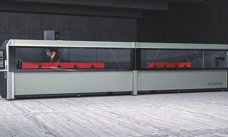 NEW EMMEGI 5-AXIS MACHINE OFFERS SINGLE OR DOUBLE OPERATION