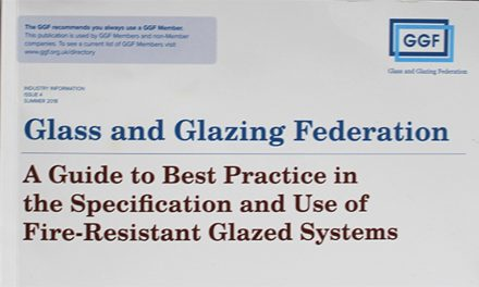 GGF LAUNCHES UPDATED FIRE RESISTANT GLAZING GUIDE