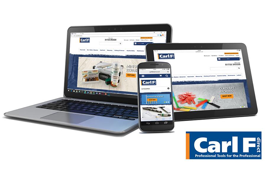NEW CARL F DIRECT WEB SITE