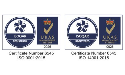 RITEC CONTINUES ITS ISO 9001 AND 14001 SEALS OF APPROVAL
