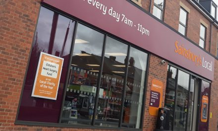 WADDS LTD USES EXLABESA SHOPFRONTS FOR SAINSBURY'S LOCAL BRANCH IN NEWCASTLE UPON TYNE