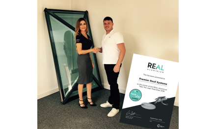 REAL ALUMINIUM ANNOUNCES 'TAKE THE LEAP' PRIZE DRAW WINNER