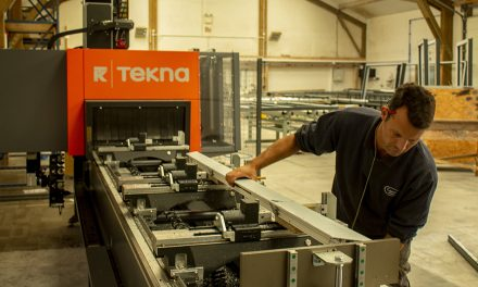 TEKNA MACHINING CENTRE PROVES THE RIGHT CHOICE FOR CAMEL GLASS