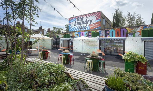 PATIOMASTER'S DOORS USED IN NEW WEST LONDON CONTAINER MARKET SITE