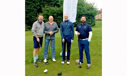 FORE! HUNDRED POUNDS RAISED FOR CHARITY AT IN GOLF TOURNAMENT