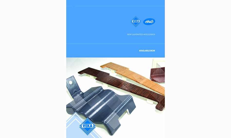 THE COMPLETE PACKAGE; LAMINATED MOULDINGS DELIVERED DIRECT FROM VEKA
