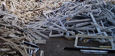 Recovinyl waste PVC frames