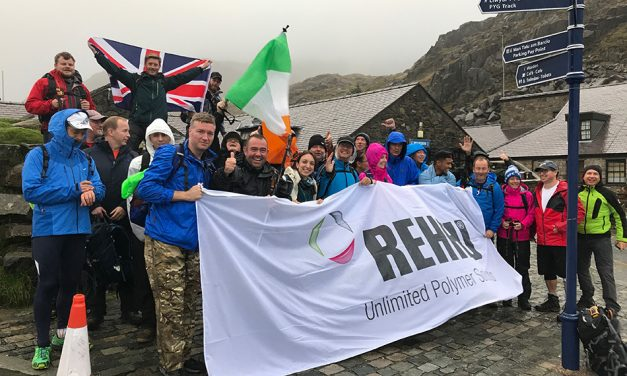 REHAU'S WINDOWS SOLUTIONS TEAM COMPLETE THE THREE PEAKS CHALLENGE FOR CHARITY