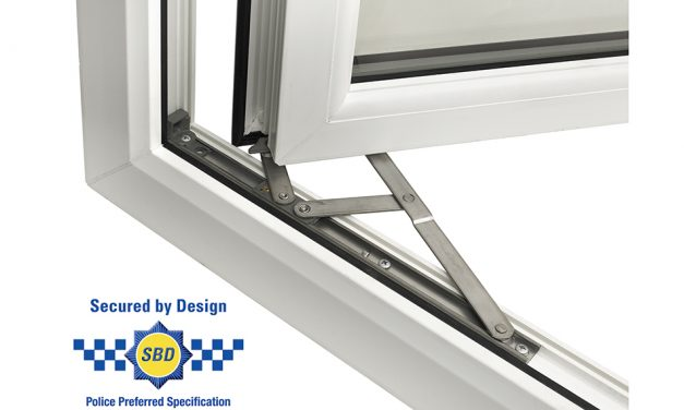 TITON'S FRICTION HINGES AWARDED 'SECURED BY DESIGN' STATUS