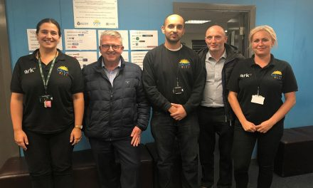 MORLEY DONATION MAKES A DIFFERENCE FOR LEEDS CHARITY