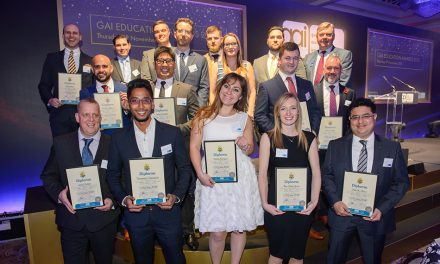 ARCHITECTURAL IRONMONGERY RISING STARS CELEBRATED AT GAI EDUCATION AWARDS