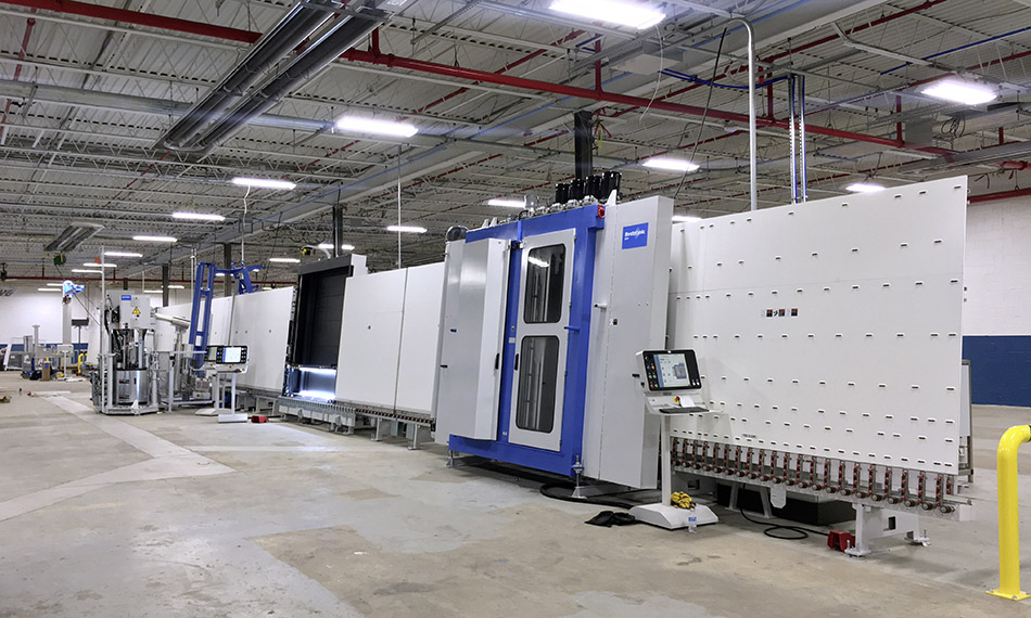 BYSTRONIC GLASS INSTALLS TWO INNOVATIVE B'VARIO TPS® IG LINES AT NORTHEAST BUILDING PRODUCTS IN PHILADELPHIA