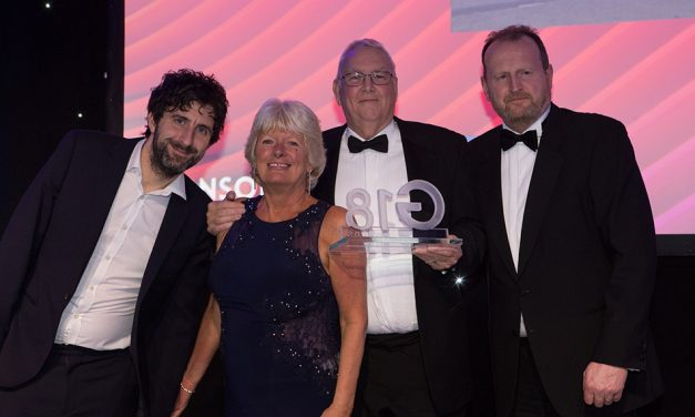 DOUBLE R SCOOPS FIRST PRIZE: GLASS COMPANY OF THE YEAR