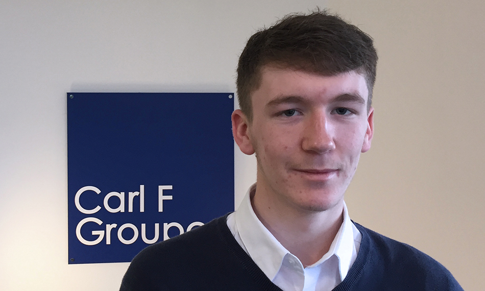 CARL F GROUPCO SUPPORTS APPRENTICESHIP SCHEME