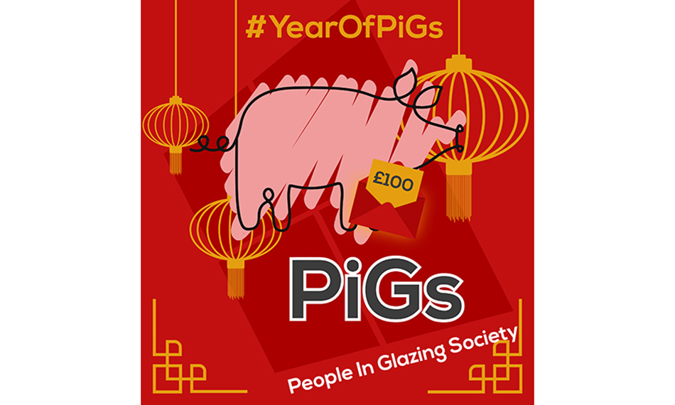 SARAH SAYS HELLO TO THE YEAR OF THE PIG(S)