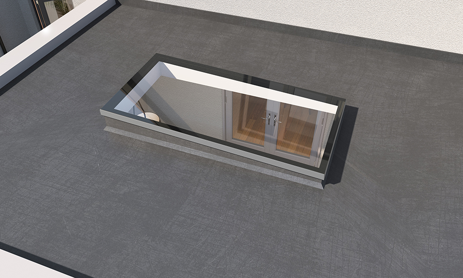 PREFIX LAUNCH SUPER SLIM FLAT ROOFLIGHT