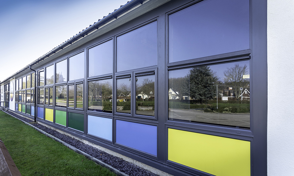 OPTIMA CASEMENT WINDOWS FROM PROFILE 22 AT THE HEART OF A MAJOR RENOVATION PROJECT