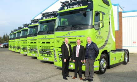 CAMDEN GROUP'S GROWTH LEADS TO £700,000 LOGISTICS INVESTMENT
