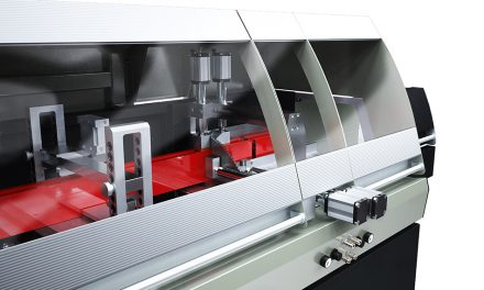 NEW ELECTRONIC SINGLE HEAD SAW FROM EMMEGI (UK)
