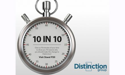 DISTINCTION TO LAUNCH 10IN10 ON STAND P20