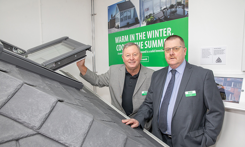BWM SHOWROOM SHOWCASES LEKA ROOFS FROM MODPLAN