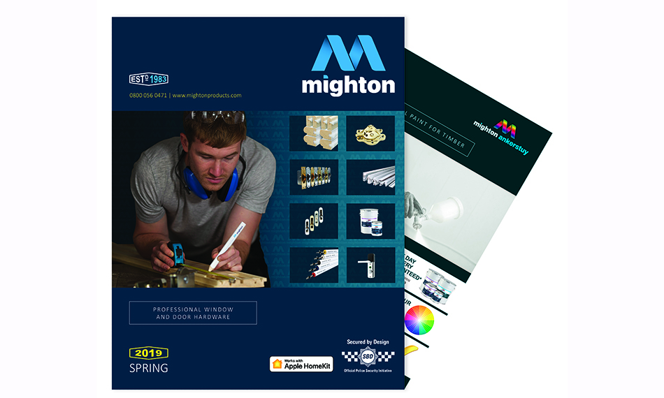 MIGHTON: LAUNCHING THEIR LATEST WITH A FRESH NEW CATALOGUE