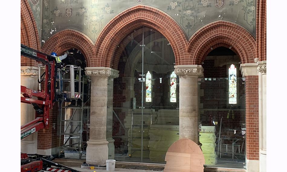 TUFFX GLASS BRINGS NEW LIGHT TO CHURCH RENOVATION