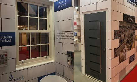 QUICKSLIDE DELIVERS LOTS MORE BRICKS IN THE WALL AT THE FIT SHOW