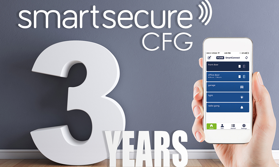 CARL F GROUPCO CELEBRATES THIRD ANNIVERSARY OF SMARTSECURE