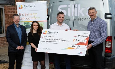 SAINT-GOBAIN BUILDING GLASS CELEBRATES FINAL WIN YOUR WINDOWS BACK COMPETITION WINNER