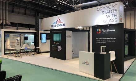 PLANITHERM NETWORK, PATTERNED GLASS AND PREMIUM RESIDENTIAL PROVE POPULAR AT THE FIT SHOW